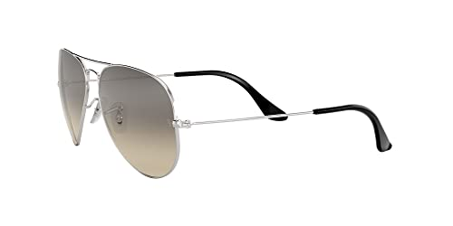 Ray Ban Unisex Sonnenbrille Aviator, Large, Silber - 3
