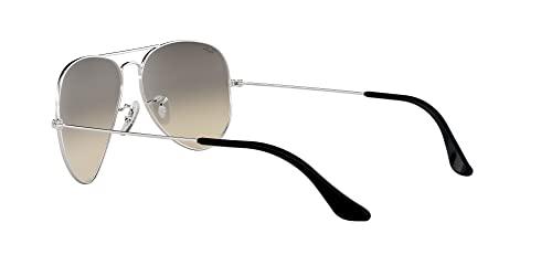 Ray Ban Unisex Sonnenbrille Aviator, Large, Silber - 5