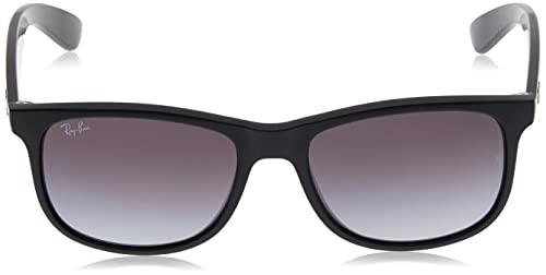 Ray Ban Unisex Sonnenbrille Andy, Herstellergröße: 55, Gestell: Schwarz, Gläser: Grün - 2