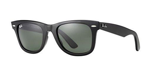 Ray Ban Unisex Sonnenbrille RB2140, Gr. Medium, Gestell: schwarz, Gläser polarisierend