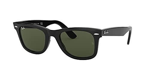 Ray Ban Unisex Sonnenbrille RB2140, Gr. Medium, Gestell: schwarz, Gläser polarisierend - 2