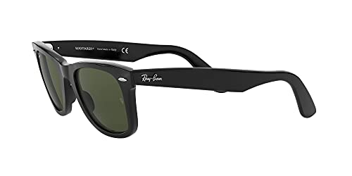 Ray Ban Unisex Sonnenbrille RB2140, Gr. Medium, Gestell: schwarz, Gläser polarisierend - 3