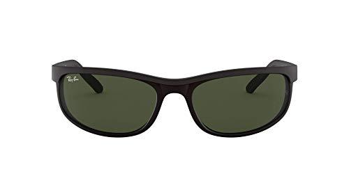Ray Ban Unisex Sonnenbrille Predator 2, Herstellergröße: 62, Gestell: Schwarz, Gläser: Grün
