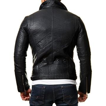 Herren Kunstleder Jacke Homme Prestige Homme Herren Prestige Jacke Kunstleder TFl3K1Jc